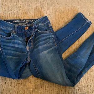 American eagle skinny jeans/jeggings